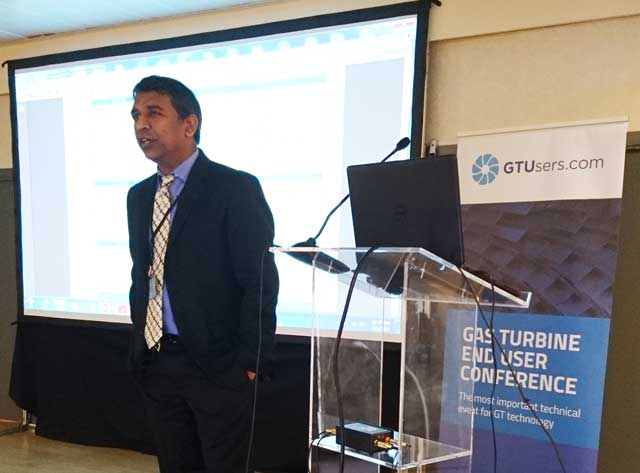 Ajay Gupta opened the GE day at the Frame 6FA end user conference